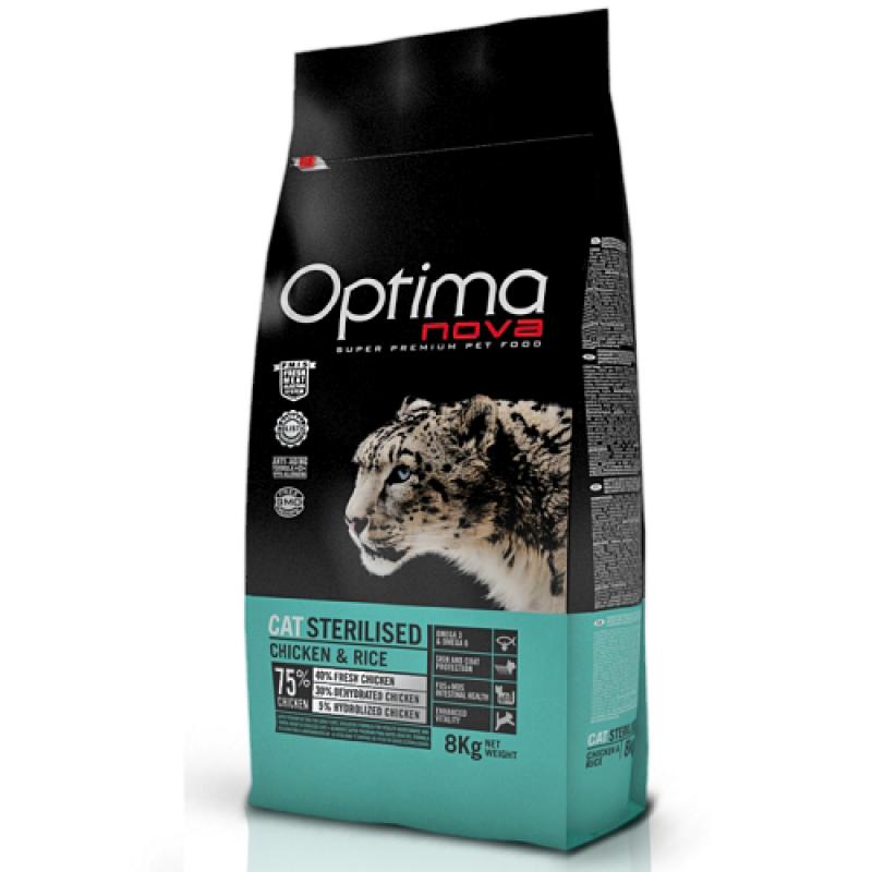Optima Nova Cat Adult Sterilised 2 kg