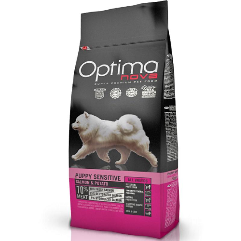 Optima Nova Puppy Sensitive 12 kg