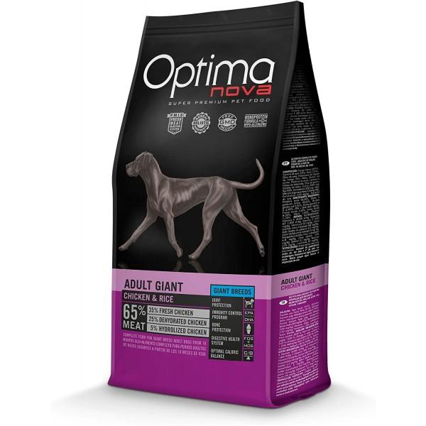 OPTIMA NOVA Adult Giant para perros adultos de razas grandes, 12kg